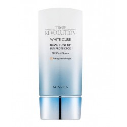 Солнцезащитный крем для лица Missha Time Revolution White Cure Blanc Tone-Up Sun Protector SPF50+